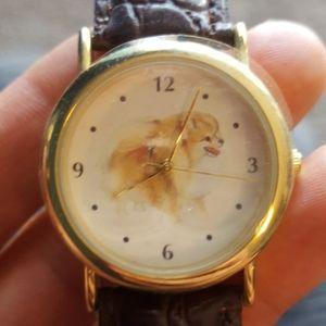 Super cute Pomeranian watch